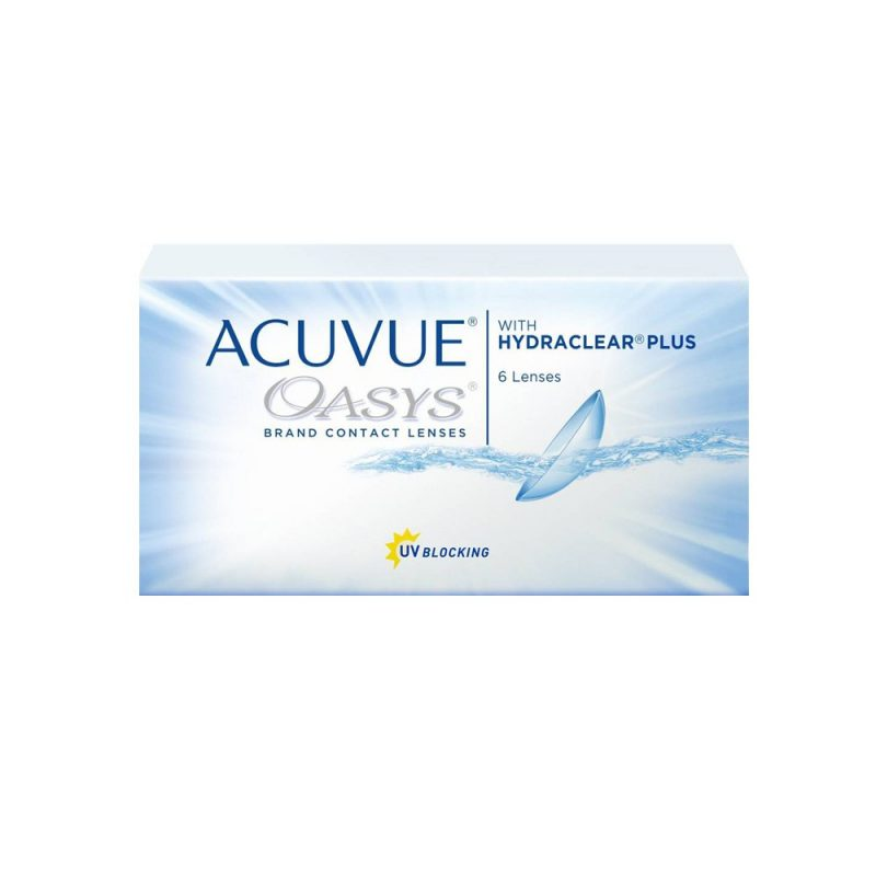 Acuvue Oasys with Hydraclear Plus – 1 box 6 lenses