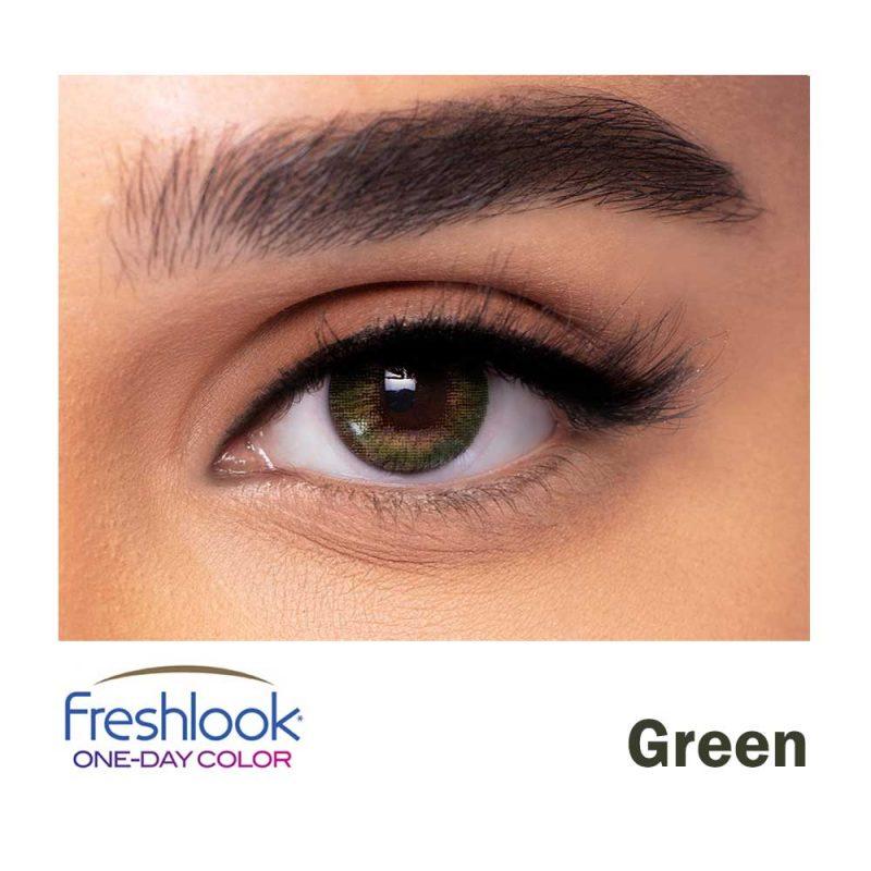 freshlook color green