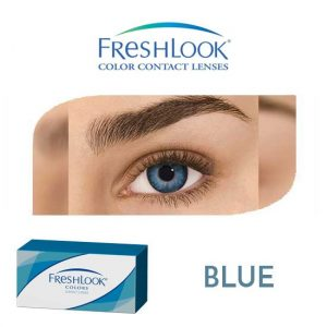 Freshlook Colors - Blue - 1 box 2 lenses