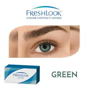 Freshlook Colors - Green - 1 box 2 lenses
