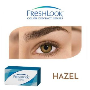 Freshlook Colors - Hazel - 1 box 2 lenses