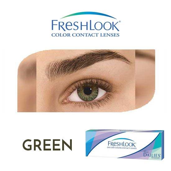 Freshlook One Day – Pure Hazel – 1 box 30 lenses