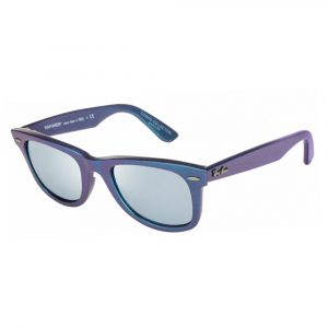 f8795ffaf Metallic Pink/ Grey With Green Mirror. rayban Origianal Wayfarer Cosmo  Mercury RB 2140