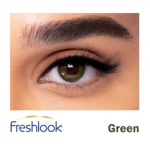 freshlook green lenses