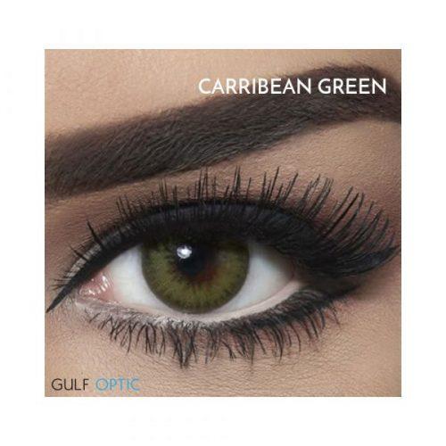 Bella Diamond Collection - Carribean Green - 1 box 2 lenses