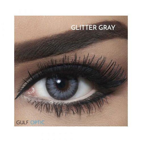 Bella Diamond Collection - Glitter Gray - 1 box 2 lenses