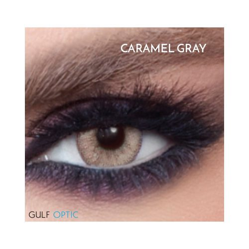 Bella Glow Collection - Caramel Gray - 1 box 2 lenses