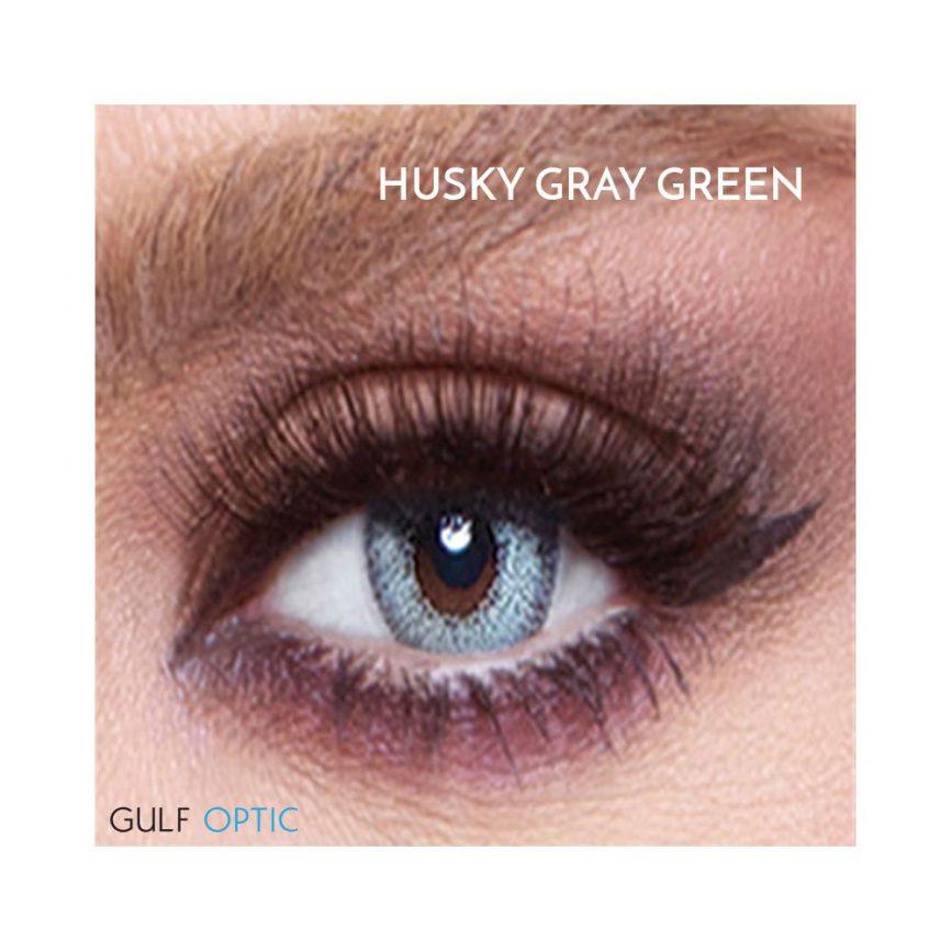 Bella Glow Collection - Husky Gray Green - 1 box 2 lenses