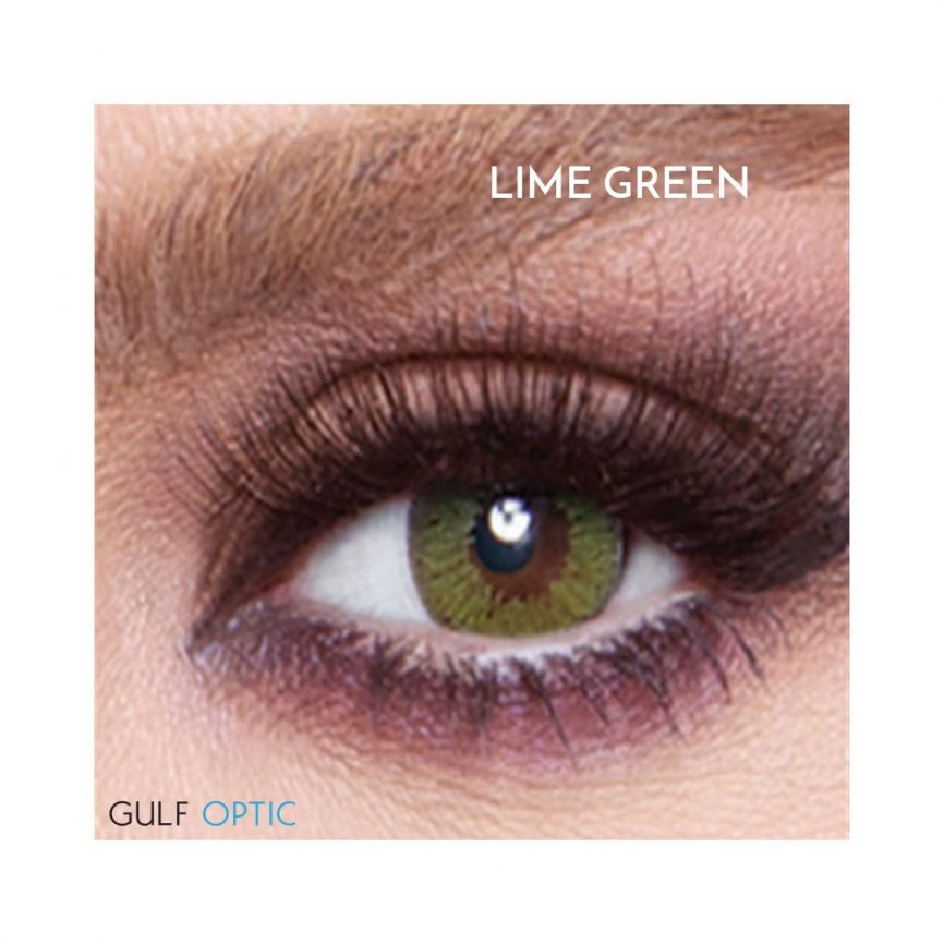 Bella Glow Collection - LIme Green - 1 box 2 lenses