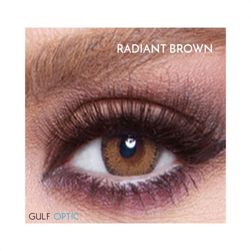 Bella Glow Collection - Radiant Brown - 1 box 2 lenses