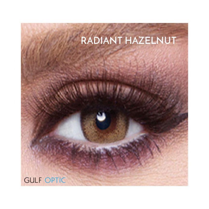 Bella Glow Collection - Radiant Hazelnut - 1 box 2 lenses