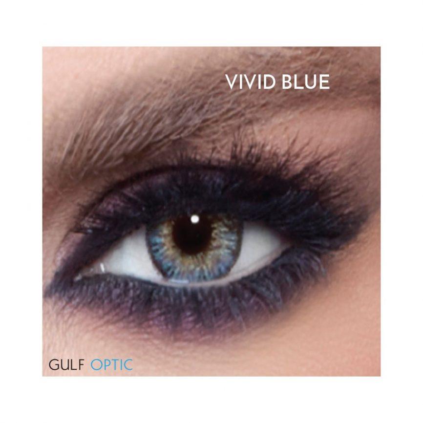 Bella Glow Collection - Vivid Blue - 1 box 2 lenses