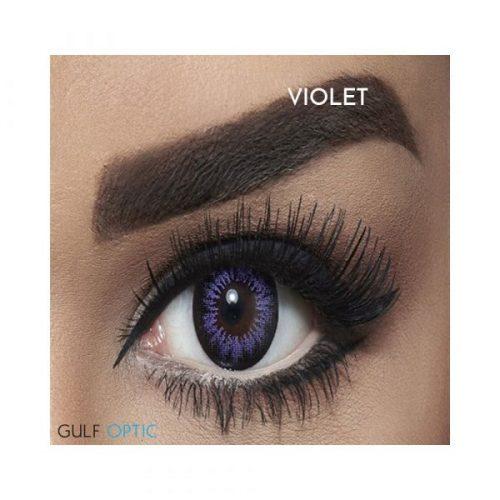 Bella Snow White Collection - Violet - 1 box 2 lenses