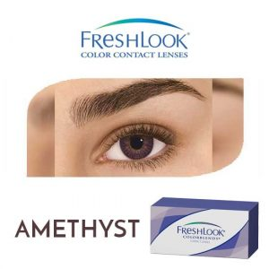 Freshlook Colorblends - Amethyst - 1 box 2 lenses