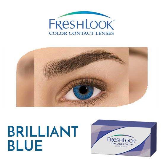Freshlook Colorblends - Brilliant Blue - 1 box 2 lenses