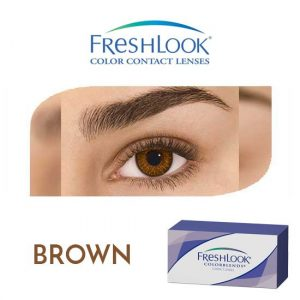 Freshlook Colorblends - Brown - 1 box 2 lenses