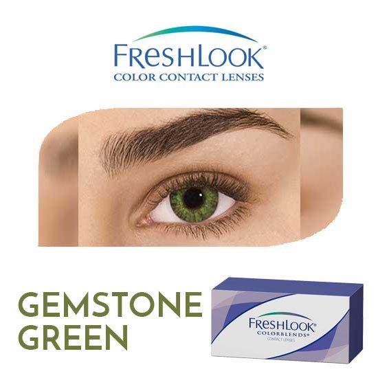 Freshlook Colorblends - Gemstone Green - 1 box 2 lenses