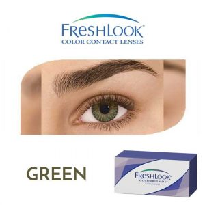 Freshlook Colorblends - Green - 1 box 2 lenses