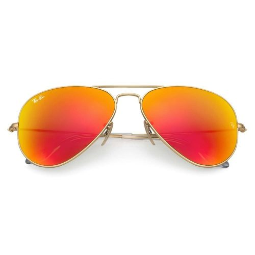 RAY-BAN AVIATOR 3025 112/69 ORANGE FLASH MIRROR
