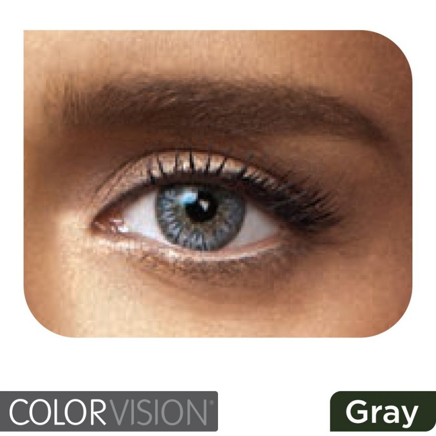 ColorVision - Gray 2 Lenses - Monthly